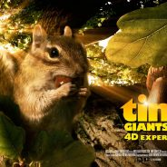 Tiny Giants 4-D Experience® Now Playing at the State Museum