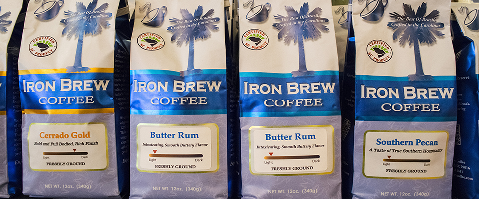 Iron Brew Coffee at the Cotton Mill Exchange
