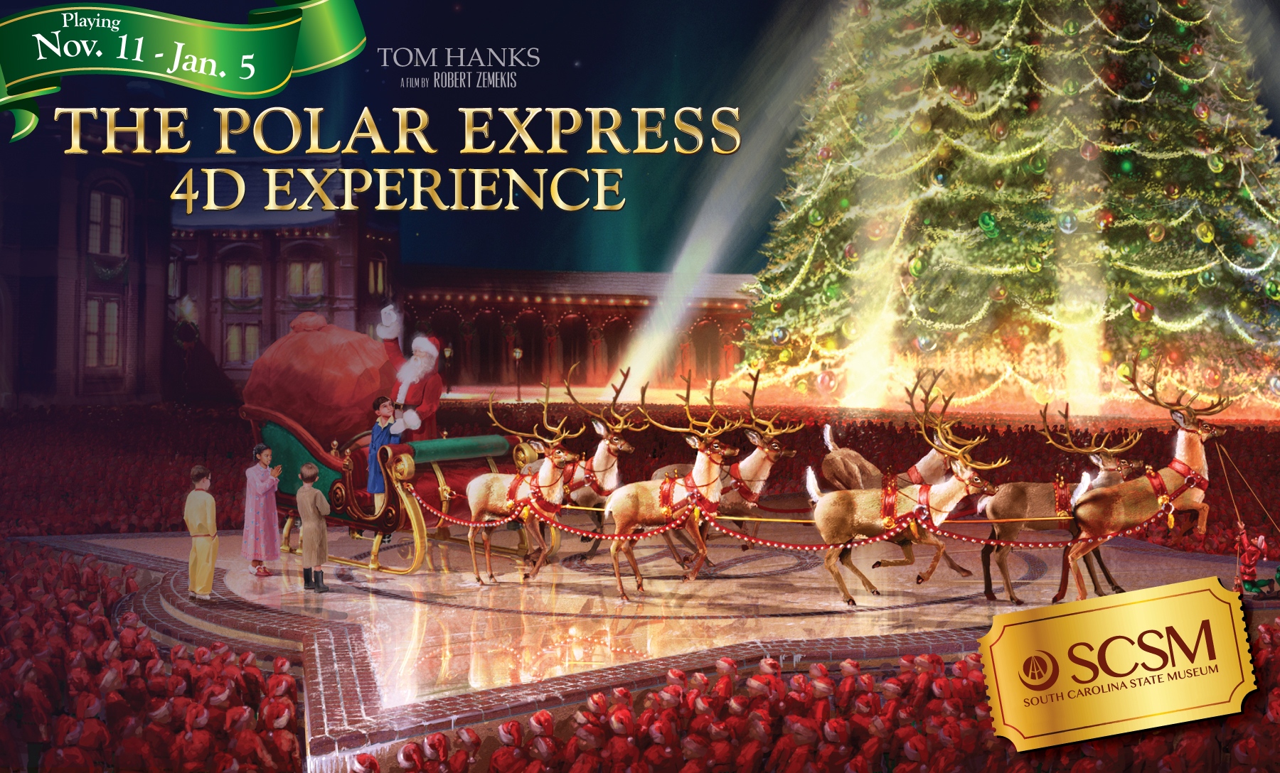 The Polar Express 4-D Experience, columbia, holidays, christmas, family