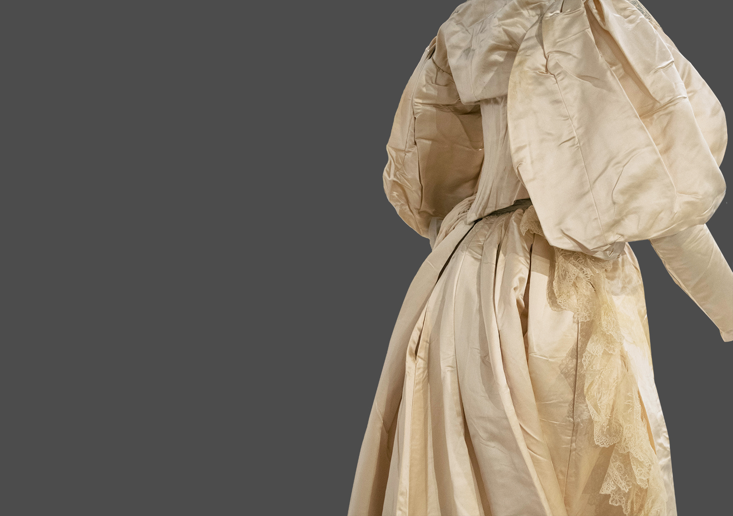 1894 Wedding Dress From The Exhibit Threads The Story In
