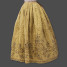 1750s embroidered petticoat from the exhibit, THREADS: the Story in Our Clothes