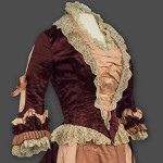 c1875 Richland County SC Dress Bodice