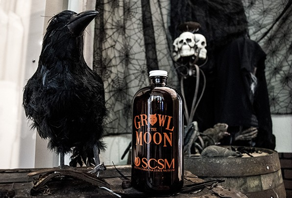 Growler with crow BLOG