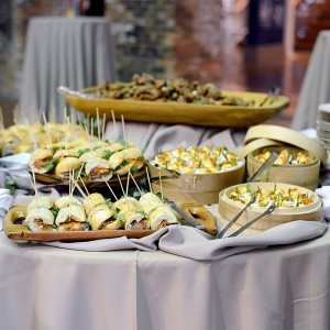Event Food on Display