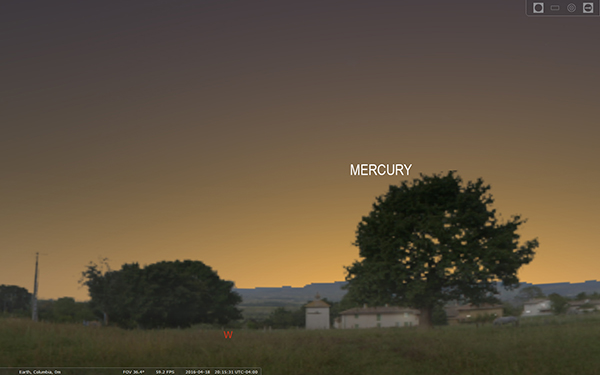 Mercury April 18 2016