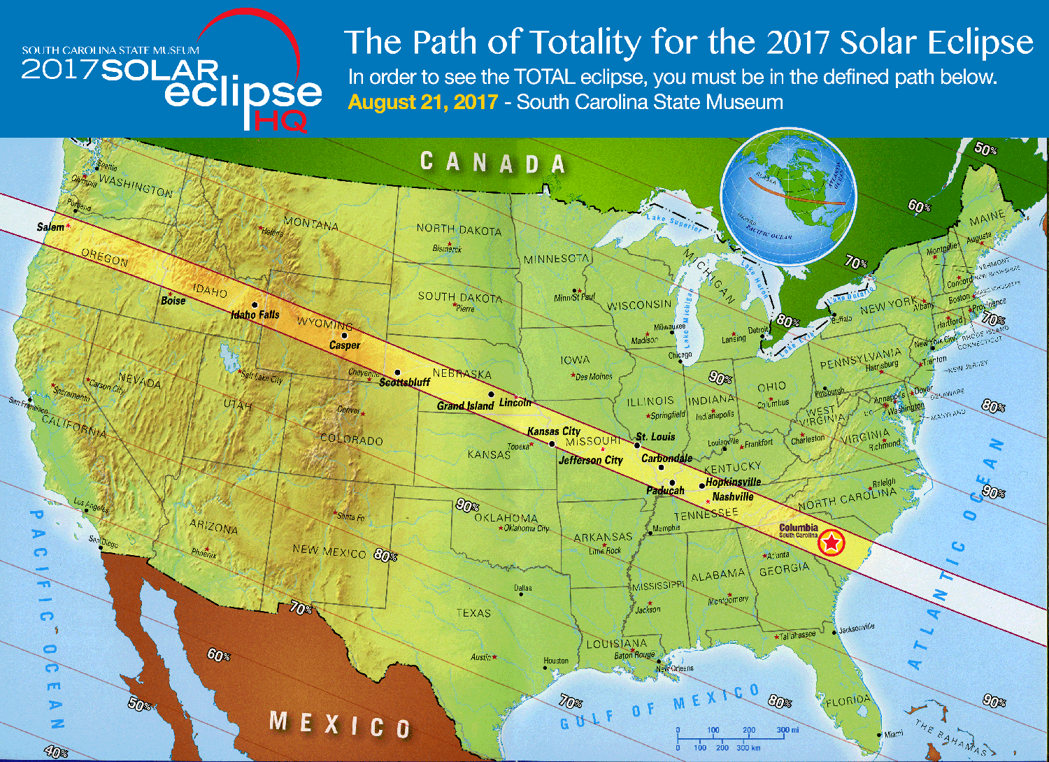 Astroblog One Year Away From A Total Eclipse Of The Sun South