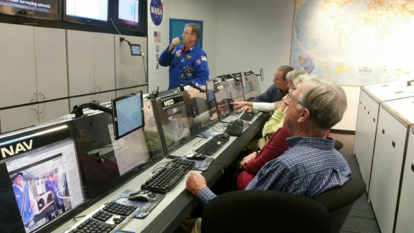 State Museum Volunteers at the Challenger Center