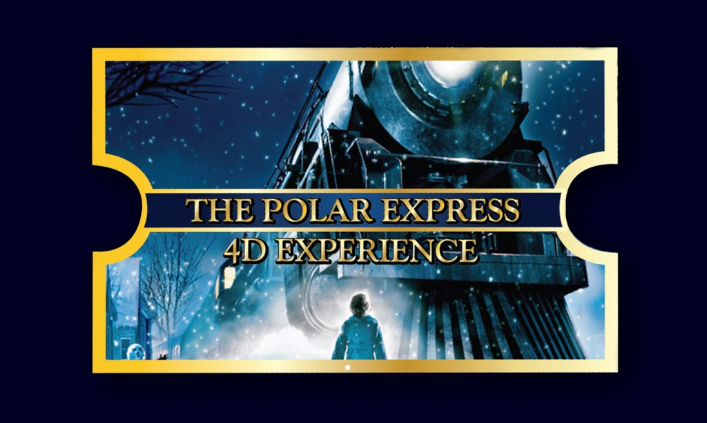 polar express, columbia sc, things to do, 4 D theater