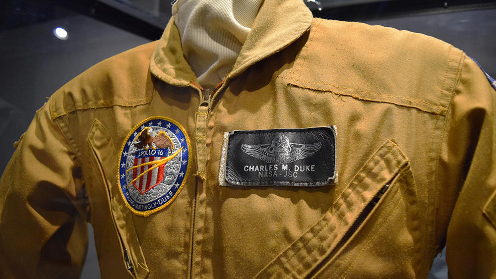 Charles Duke Apollo Flight Training Suit