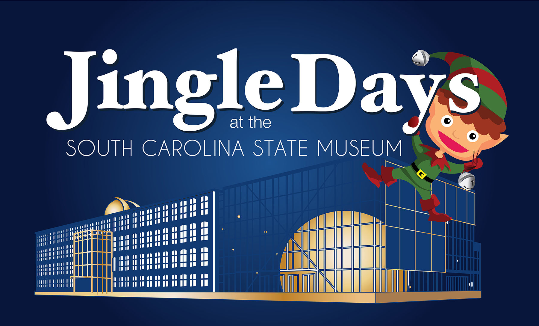 Jingle Days at the State Museum, holidays, family, things to do, columbia, christmas