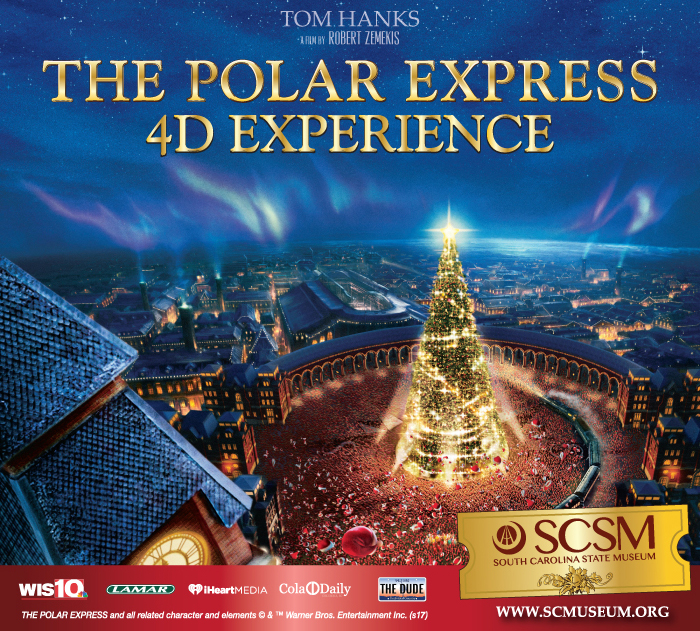 The Polar Express 4D Experience, Columbia, South Carolina, holidays, family, things to do