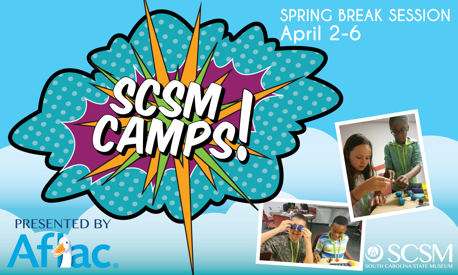 Columbia, Spring Break. Spring Break Camps, family fun