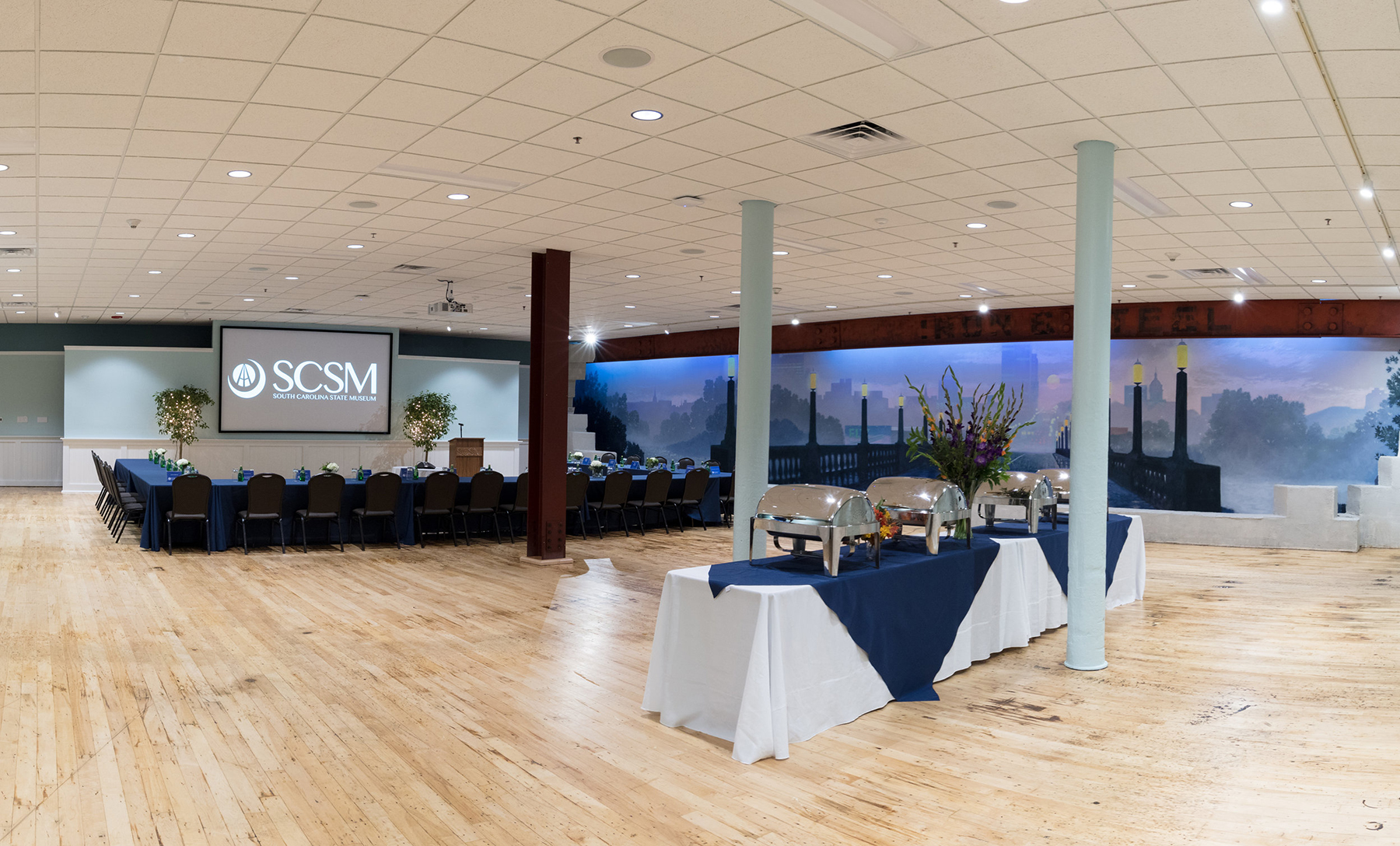 Vista Room, Special Events, Event Venus, Meeting Space, Columbia, South Carolina State Museum