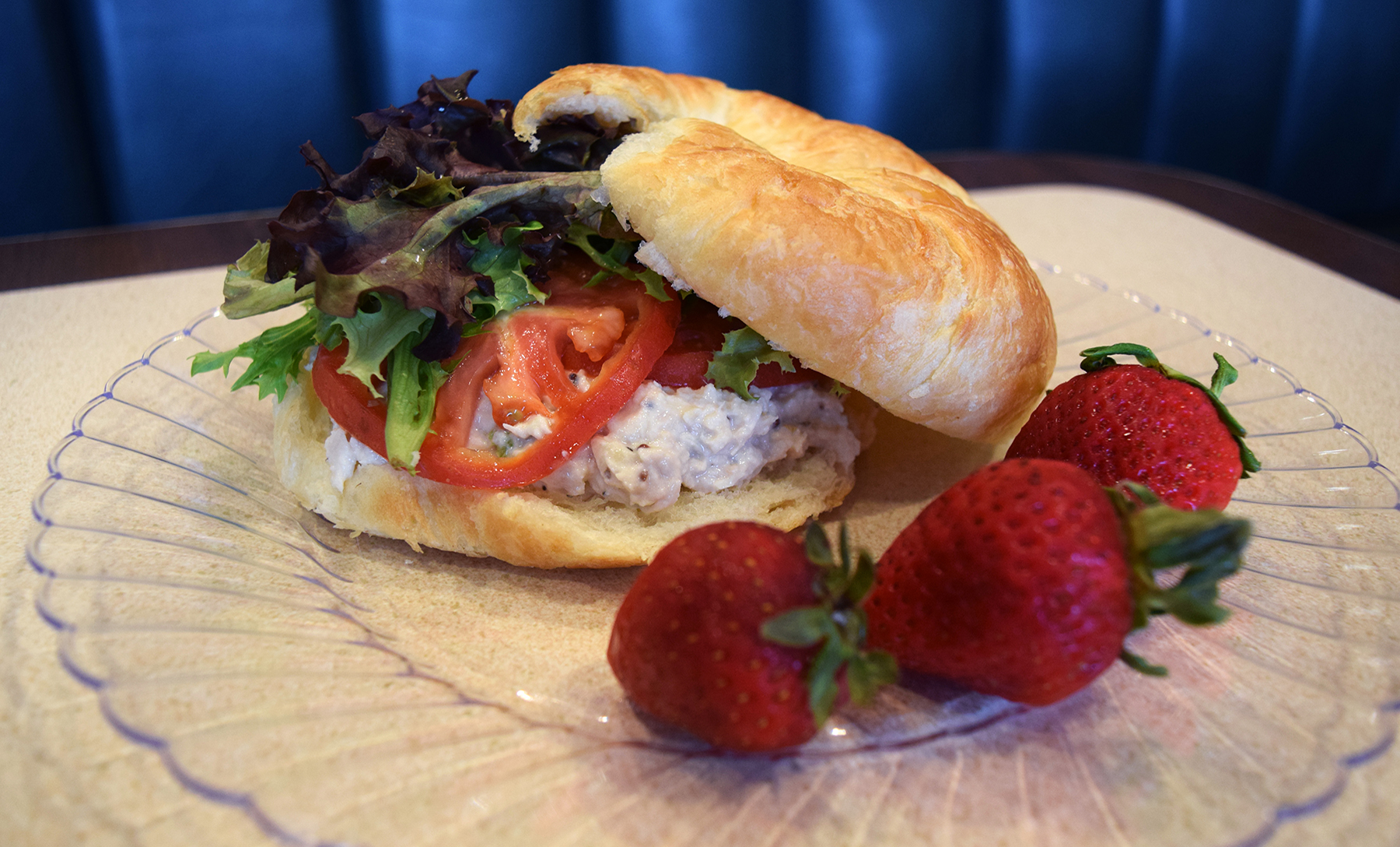 Crescent Cafe, Chicken Salad Sandwich