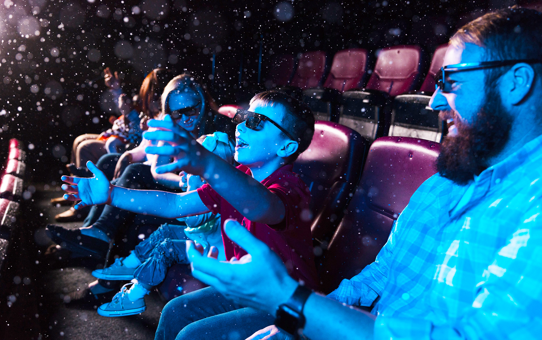 4D Theater, South Carolina State Museum, Snow, Open For Fun