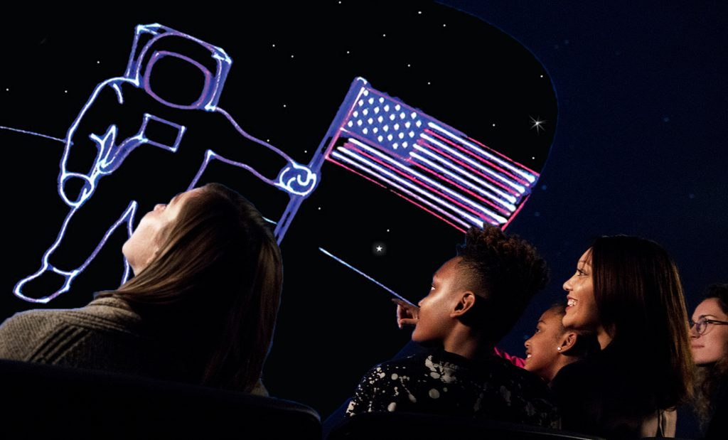 Laser Salute to America, 4th of July, Planetarium, Columbia, South Carollina