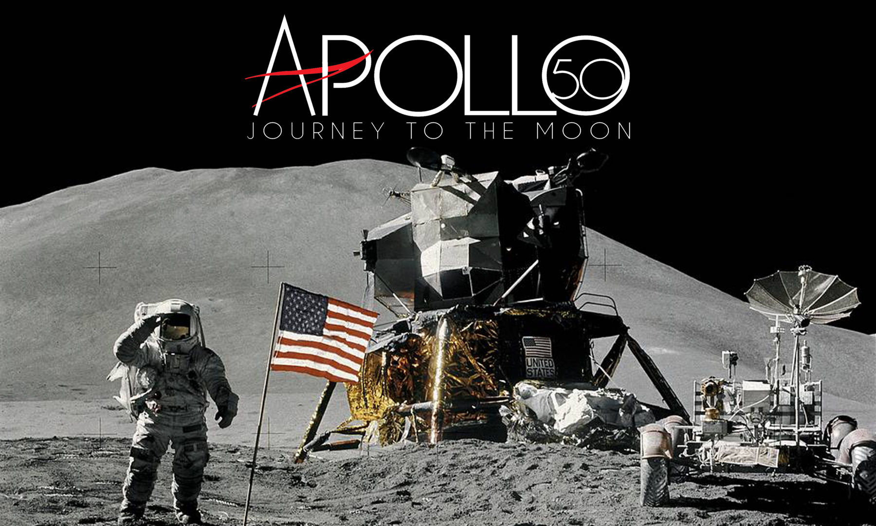 Apollo 50 Journey to the Moon