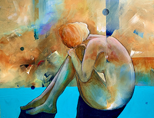 Gail Cunningham - Daydreaming for the SC Watermedia Traveling Exhibit